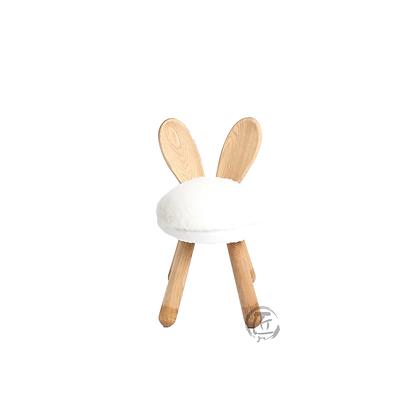 HISA 白兔造型白蠟木椅子