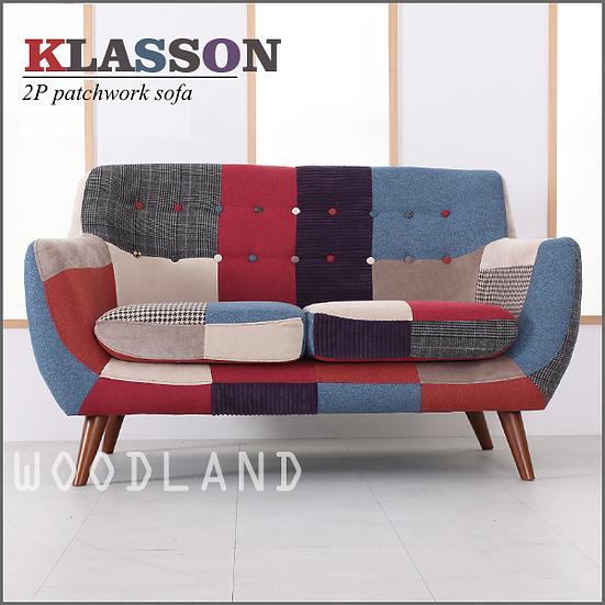 KLASSON 2座位拼布梳化