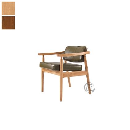 KIMI 白橡木仿皮餐椅