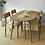 Thumbnail: TAKI 白橡木橢圓形餐桌