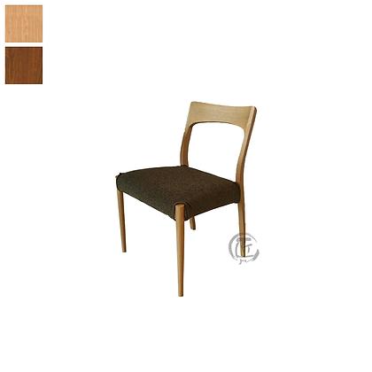 ISAMU 白橡木多色餐椅