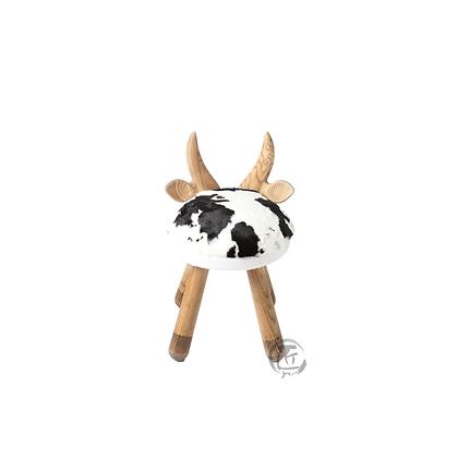 HISA 小牛造型白蠟木椅子