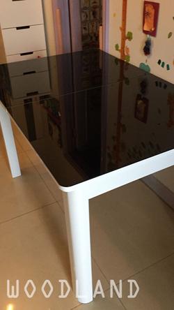 CAMPO 鋼化玻璃伸縮餐桌