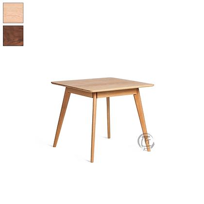 MIKA 白橡木正方形餐桌