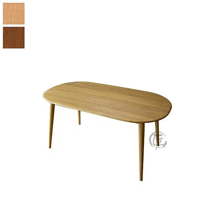 TAKI 白橡木橢圓形餐桌