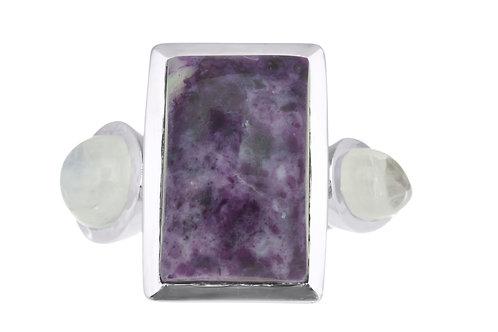 Morado Opal Cluster Ring