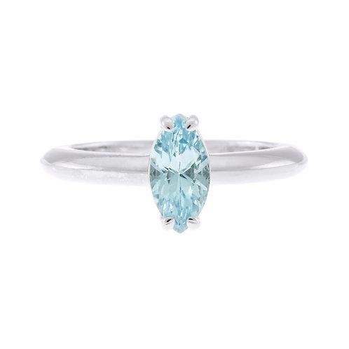 Blue Topaz Midi Ring
