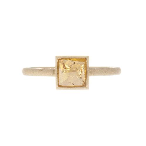 Fancy Yellow Rough Diamond