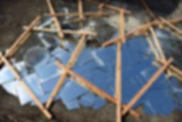 "namekawamisa.com/Namekawa's installation work, The title is ""Lucy in the sky woth diamonds"""