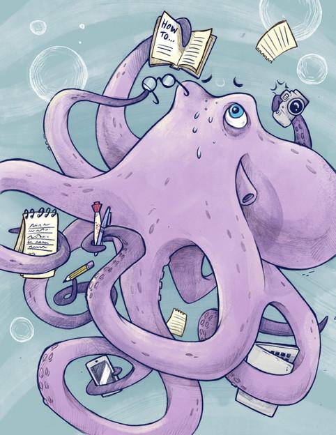 Overwhelmed Octopus