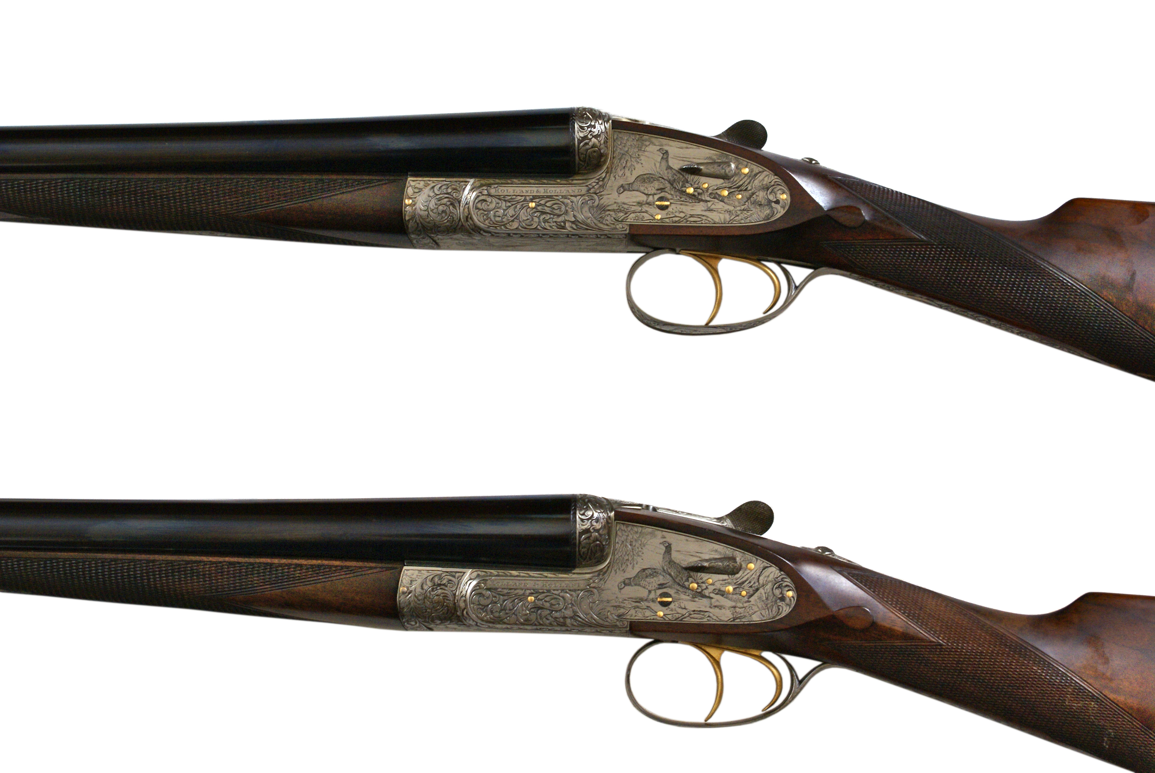 Holland And Holland >> Holland Holland Royal Deluxe Pair Of 12 Bore Sidelock Ejector