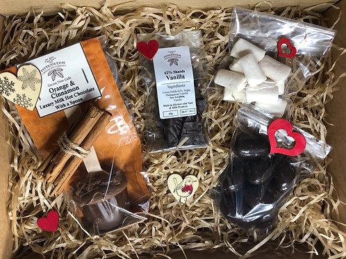 Our 'Hot Chocolate Indulgence' Gift Set - different flavour options available