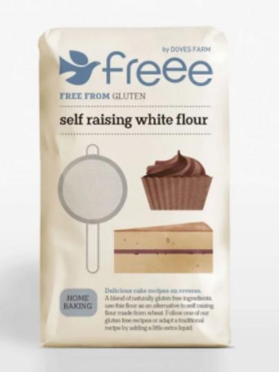 Doves Farm Gluten Free Self Raising White Flour (per 500g)