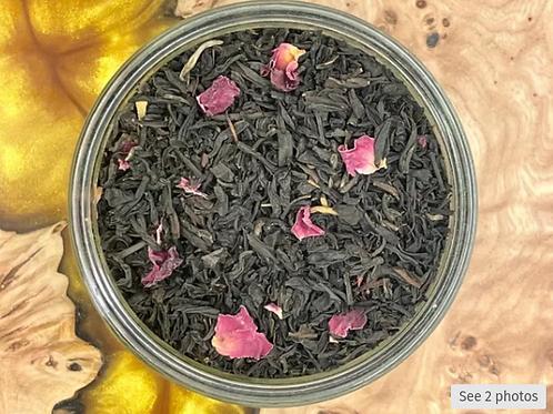 Rose Black Tea (per 10 gram, in resealable pouch)