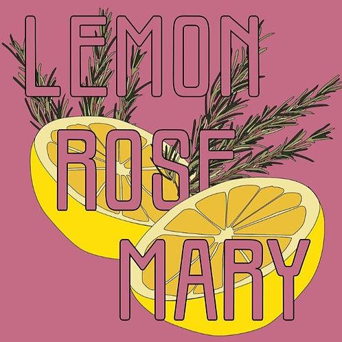 Lemon and Rosemary Kombucha