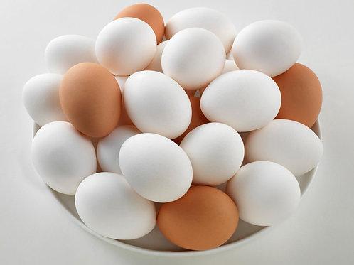 24 MIXED Free Range Eggs