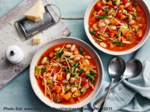 Veg-Packed Minestrone Soup