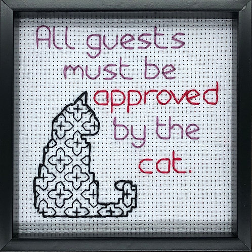 All Guest Must Be Approved...