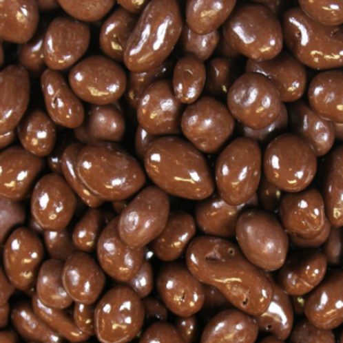 MILK Chocolate Covered Raisins (per 100g)