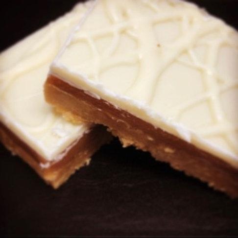 White Caramel Shortbread (x2)