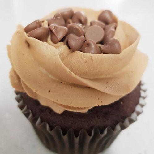 Four 'Cake Lab' Cupcakes