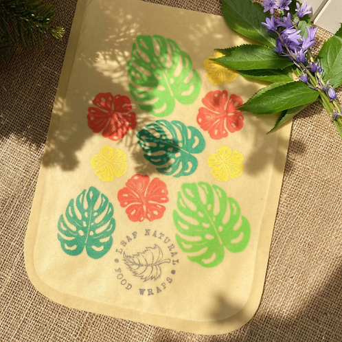 Large Waxed Bread Bag - 3 DESIGNS!