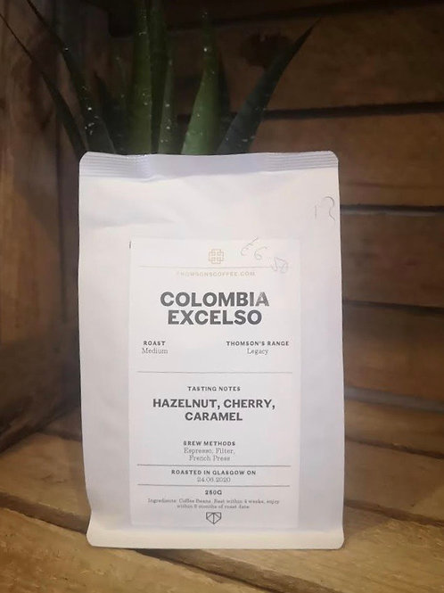 Colombia Excelso Medium Roast Coffee (250g beans)