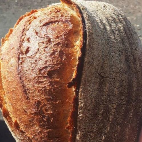 Olive & Rosemary sourdough loaf