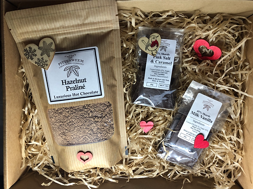 Luxurious Hot Choc & Shards Gift Set - flavour options