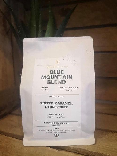 Blue Mountain Blend Light Roast Coffee (250g beans)