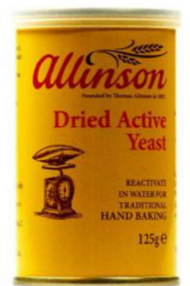 Dried Active Yeast (125g)