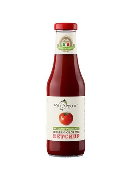 Naturally Sweetened Organic Ketchup