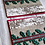 """Thumbnail: Birch & Holly set of 2 cards, 4""""x4"""", envelope included"""