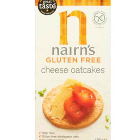 Nairns Gluten Free Cheese Oatcakes 213g