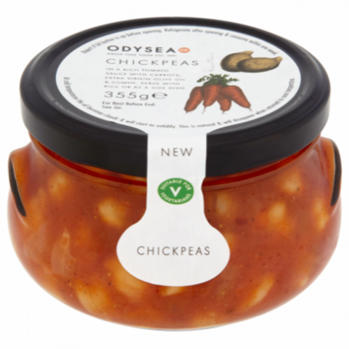 Odysea Chickpeas in Tomato Sauce 355g