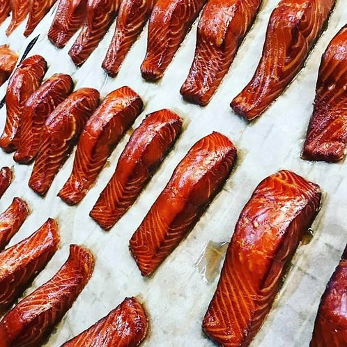 Hot Smoked Salmon (fillet, min 130g weight)