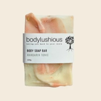 Mandarin Tonic Body Soap Bar