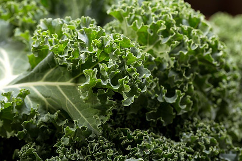Freshly Picked Mixed Green/Purple Curly Kale (100g)