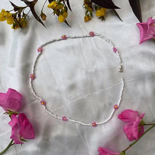 Lotus Beaded Necklace