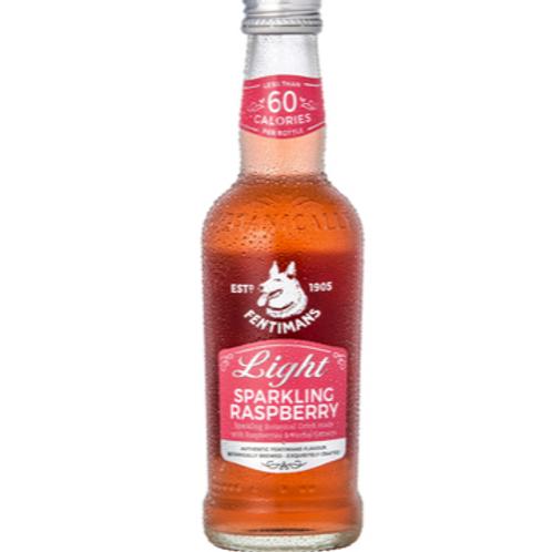 6x Fentimans Light Sparkling Raspberry 250ml