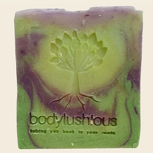 Lavender & Lime Shampoo Bar