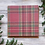 """Thumbnail: Tartan Stags, 6""""x6"""", envelope included"""