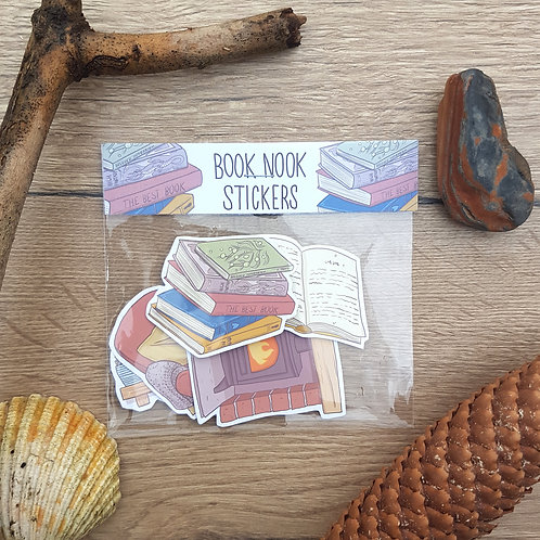 Book Nook Sticker Pack