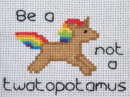 Be a Unicorn - unmounted