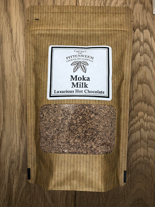 Moka Milk Luxurious Hot Chcolate Powder (200g) (200g)