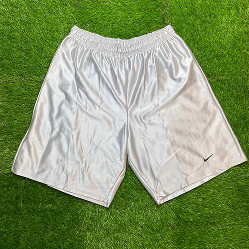 Nike Silver Shorts, Made in Canada