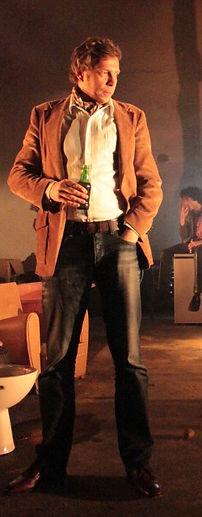 Vincent Fouquet dans LE VILAGE EN FLAMME de R.W Fassbinder - Ms. : Yann Dacosta