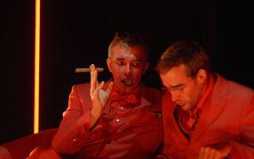 Vincent Fouquet et Emmanuel Noblet dans LE TABLEAU de Victor Slavkine, mise en scène de Yann Dacosta
