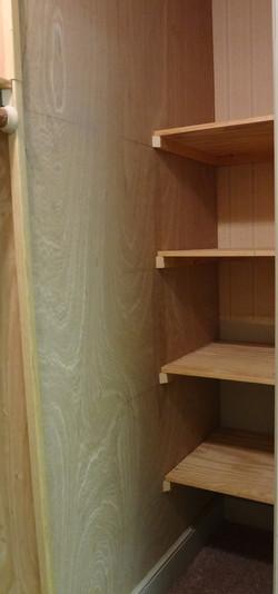 Deep Closet Shelving