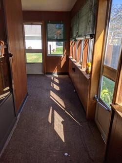 Closed in Porch